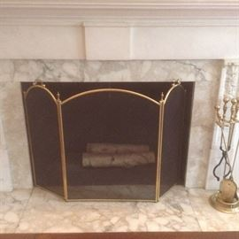 Marble Fire Place Mantel for sale, Fire Place Hardware for sale