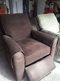 Black recliner