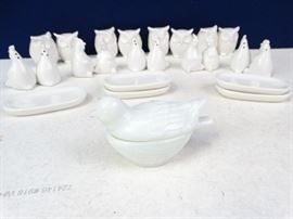 18 Salt  Pepper Shakers  Dishes