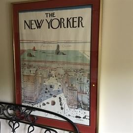 The New Yorker Steinberg cover from 1976