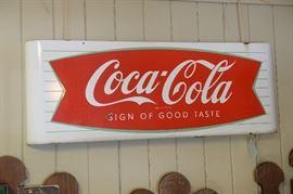 Porcelain Coca-Cola Fishtail.