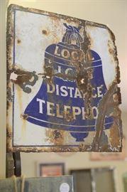 Phone company flange