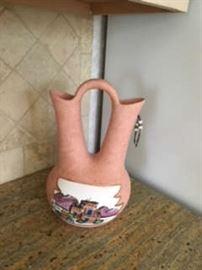 Southwestern style vase