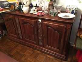 Hickory Manufacturing Company Wood Buffet