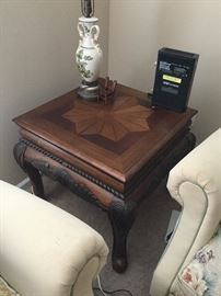 Wooded end table
