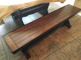 Dining room benches (2)