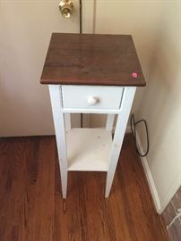 Handy small table with drawer