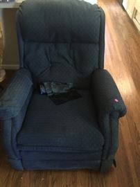 Well-loved recliner
