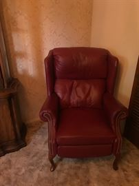 Action Lane Red Recliner