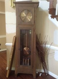 Grandfather Ethan Allen Clock