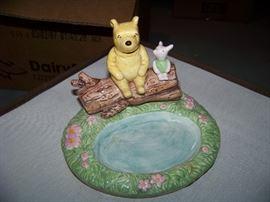 Winnie the Pooh Ceramic Soap Dish - $20