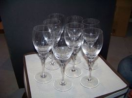 Gorham Jolie Water Wine Goblet Glass - set of  8 - $125