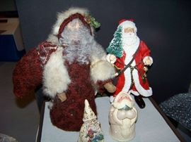 Santa Figures - Lot of 4 - $30