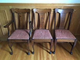 Set dining chairs - more coming