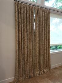 Beautiful custom drapes