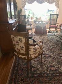 Living room furniture & rug