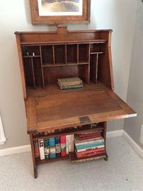 antique secretary desk -- made in Columbus, GA in 1910