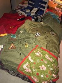 Vintage boy scout clothes