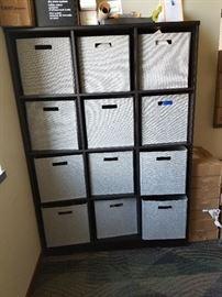 12 bin storage cubby