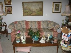 COUCH   BUY IT NOW  $ 85.00                                         MATCHING LOVE SEAT  $ 65.00