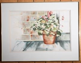 Watercolor by Joe Linn