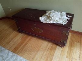 antique cedar chest