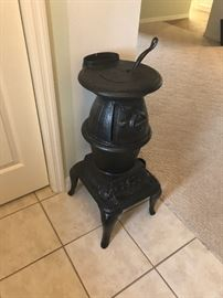 replica pot belly stove