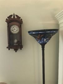 Antique Wall Clocks, Stained Glass Floor Lamp