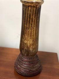 Old glass vase