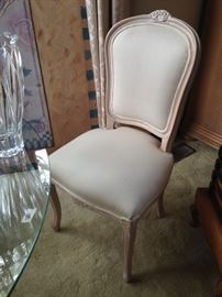 BUY IT NOW--French Provincial side chairs--4 available--$60 each--sophia.dubrul@gmail.com