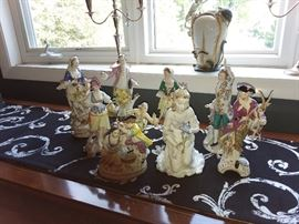 Meissen, KPM, Dresden Figurines