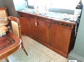 Italian Lacquer Sideboard