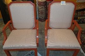 Pair Of Arm Chairs $ 185
