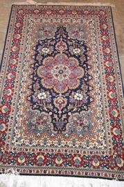 Hand Knotted Persian Gom 100% Wool , 6ft x 4ft , $ 375
