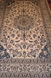 Hand Knotted Persian Nain 4 Meter ( 8ft x 5ft ) , $ 595