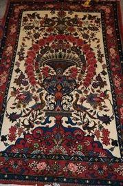 Hand Knotted Persian Bakhtiyari , 3 Meter ( 7 ft x 5 ft ) , $ 650