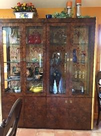 Lighted cabinet