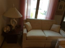 Vintage 3 piece living room set - Sofa, Love seat, Chair