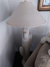 Cactus lamp.