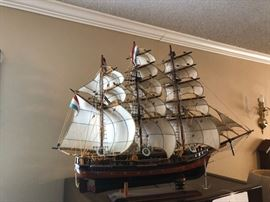 Large Sailing Ship Replica