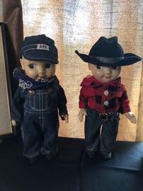 Buddy Lee Cowboy Doll, Buddy Lee Railroad Doll