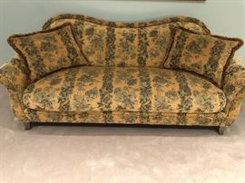 2 Swaim Sofas. 80 inches Wide, 32 inches Depth, & Height 32 inches