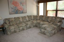 Beautiful and comfortable Sherrill Sectional Sofa.