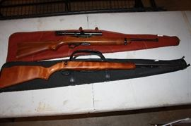 Pair of 22's.  REMINGTON AND RUGER.