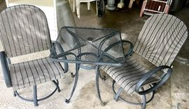 New 3 piece patio set