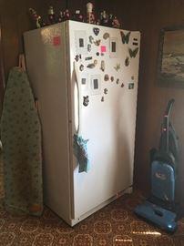 Kenmore upright freezer, vacuum