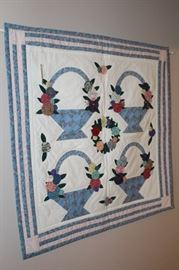 Quilt wall hanging.