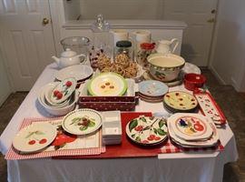 Fun kitchen items.  Lots of cherries!