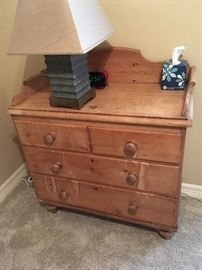 hand made wooden dresser