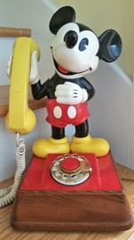 Mickey Mouse Phone VINTAGE